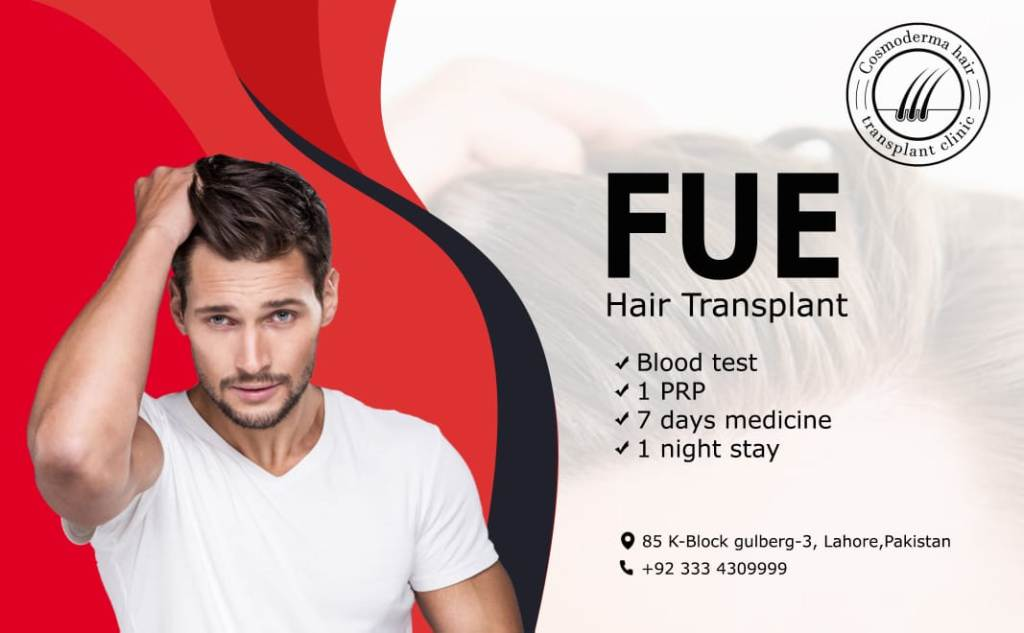 Follicular unit extraction Lahore